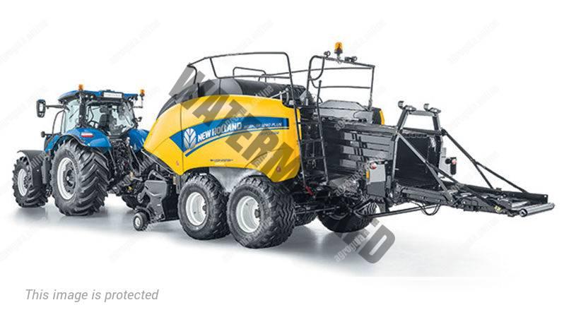 New Holland BB 870 Plus. Serie BB Plus lleno